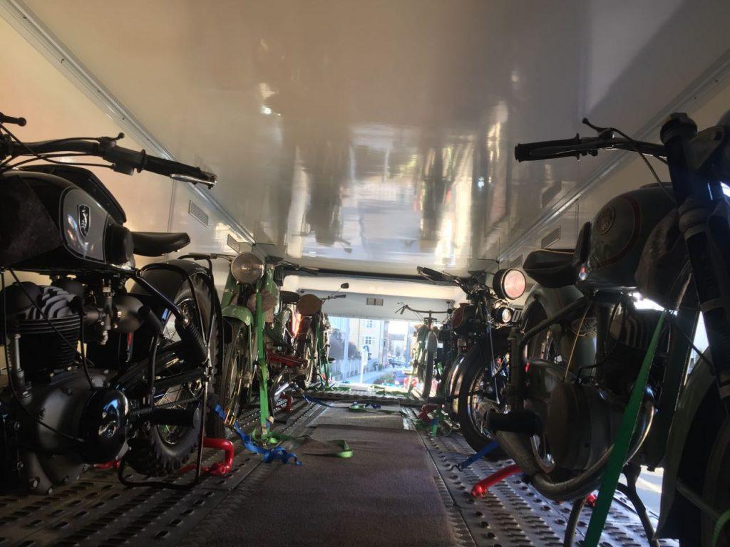 Zweiradtransport 6 Fahrzeuge