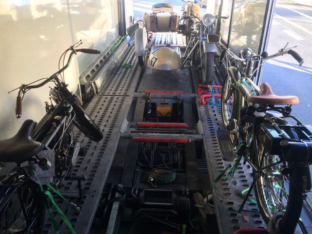 Zweiradtransport 3 Fahrzeuge