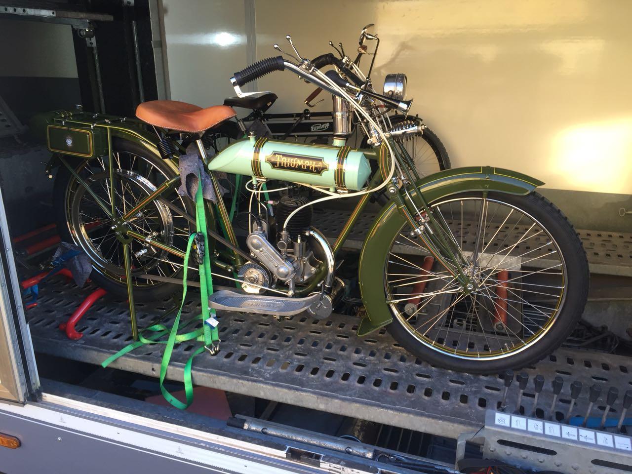 Zweiradtransport 1 Fahrzeug
